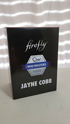 QmX Mini Masters Firefly's Jayne Cobb Exclusive Figure From Loot Cargo Crate New