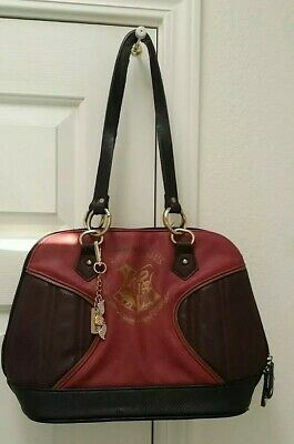 Women's Red Harry Potter Hogwarts Quidditch Purse Handbag Shoulder Satchel Bag
