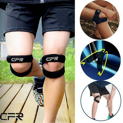 Knee Support Brace Open Patella Running Strap Injury Pain Relief Adjustable GW