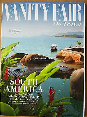 Vanity Fair on Travel supplement South America Brazil Argentina Hollywood 2017