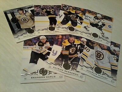 2018 -19 Boston Bruins Team Set Lot  Upper Deck Series 1 Ud 18-19 Nhl