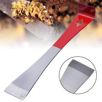 J Shape Beekeeper Bee Hive Tool Beekeeping Hook Stainless Handle Scraper Tool