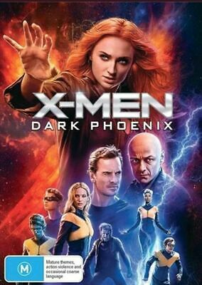 X-Men : Dark Phoenix : Australian Stock  : NEW DVD : Wednesday Special : CRAZY!