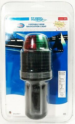 Aqua Signal Bicolor Navigation Bow Light Stainless Steel Red Green Boat 24121