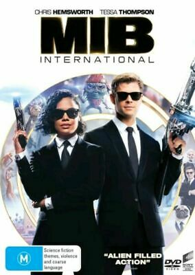 MIB International : Men In Black International  NEW DVD : 2019 Wednesday SPECIAL