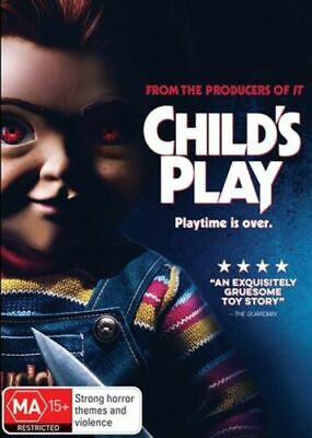 Child's Play : 2019 : NEW DVD : * Wednesday ONLY Special* : **CRAZY PRICE**