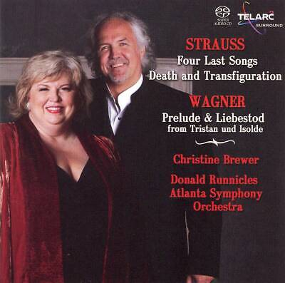 Christine Brewer - Strauss: Four Last Songs; Death and Transfiguration; Wagne...