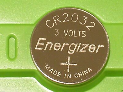 4 X Energizer CR2032 Lithium Coin Cell Button 3V Battery Batteries free postage