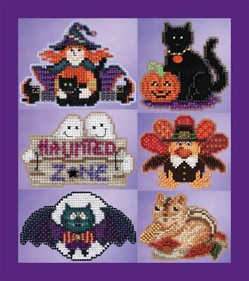 MILL HILL Counted Beaded Cross Stitch Kit - AUTUMN HARVEST - CHOOSE ONE OR ALL!