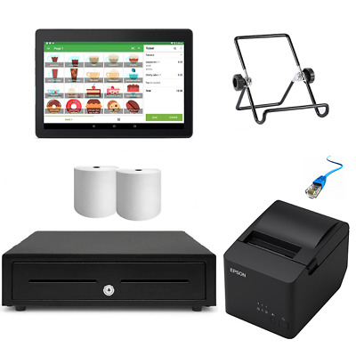 Loyverse POS Hardware with Android Tablet Bundle #4