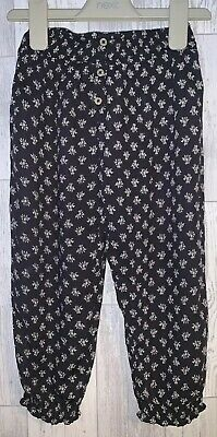 Girls Age 3-4 Years - Next Loose Fit Trousers