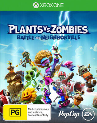 Plants vs Zombies Battle for Neighborville  - Xbox One game - BRAND NEW