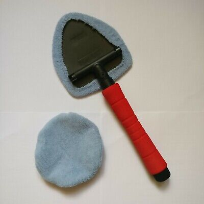 Interior Windscreen Cleaner with Telescopic Pivoting Head