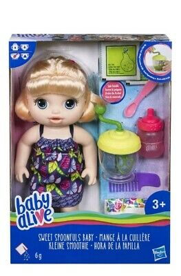 Baby Alive Sweet Spoonfuls Blonde Baby Doll GirlMISSING PART!!!!!!!!!!!!!!!!!!