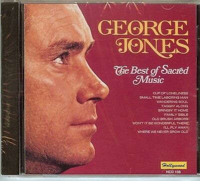 George Jones - The Best Of Sacred Music -  Cd - New