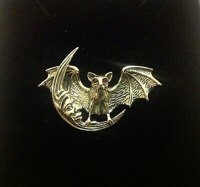 Vampire BATS FLYING STORMING Picture Gothic Necklace Halloween