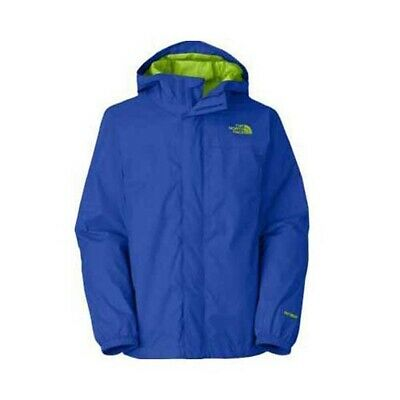 THE NORTH FACE HyVENT HOODED RAIN JACKET BOYS SIZE S 78