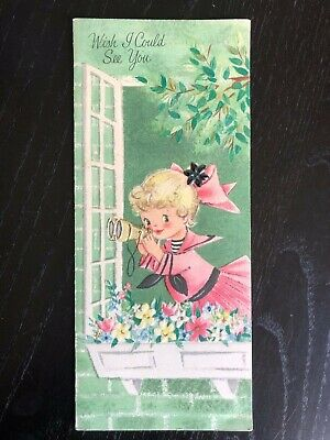 Unused 1960s Vintage Greeting Card Mother's Day, Slim Jims by Specialty Hallmark
