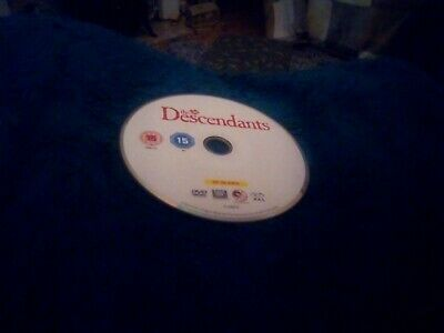 The Descendants DVD George Clooney Disc only no case
