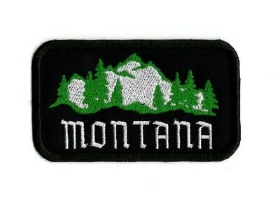 Montana Patch Embroidered Montana Travel Souvenir Iron on to Sew on Patch AP 330