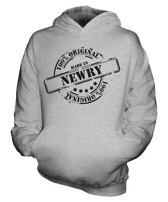 Made In Newry Unisex Kids Hoodie Boys Girls Children Toddler Gift Christmas