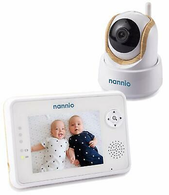 """Nannio Comfy 3.5"""" Video Baby Monitor with Enhanced Super Night Vision Camera"""