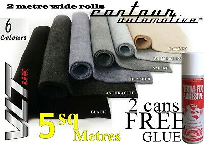 Camper Van Campervan Carpet Car Lining Trim Caravan Truck Coach Boat Kit 5 Sqm