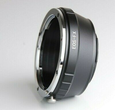 EOS-FX Unbranded Canon EF EF-S lens to Fuji X camera body mount adaptor UK STOCK