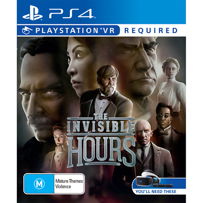 The Invisible Hours PS4 Game - Brand New - Sealed - Stock From Perth
