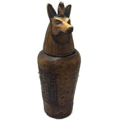 Egypt Anubis Basalt Figurine Statue Ancient Egypt God of Death Collectible New