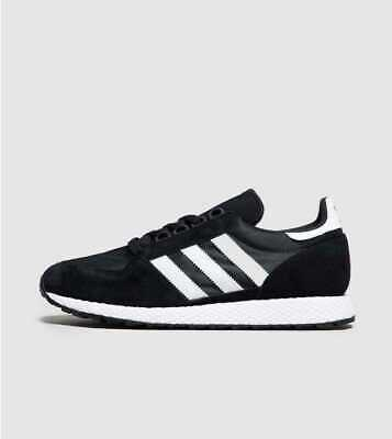adidas Original Forest Grove Men's Trainer Black Brand New In Box All UK Sizes