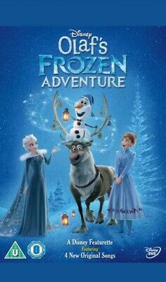 Olafs Frozen Adventure [DVD] featuring 4 original songs