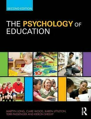 Psychology of Education by Martyn Long (English) Paperback Book Free Shipping!
