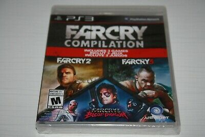 Farcry compilation Sony Playstation 3 PS3 Brand new sealed