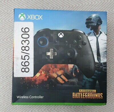 Official Microsoft xbox one controller  - Limited Edition PUBG - Boxed