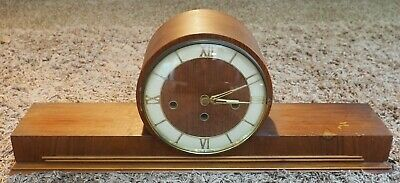 Vintage German-made MANTLE CLOCK with Chimes - Looks Deco - Manufacturer Unknown