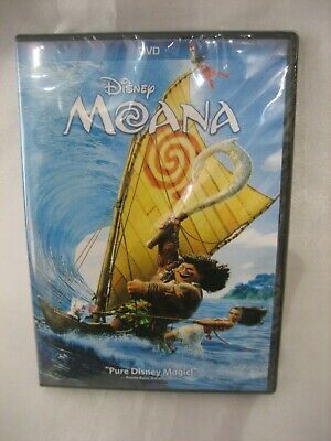 DISNEY Moana (DVD, 2017) BRAND NEW SEALED