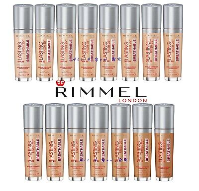 Rimmel LASTING FINISH  25 hours BREATHABLE FOUNDATION SPF20 - 30ml