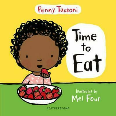 Time to Eat by Penny Tassoni Hardcover Book Free Shipping!