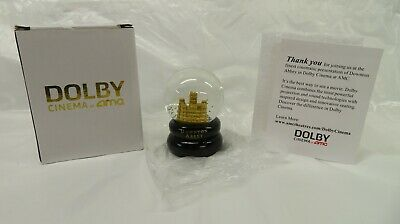 Downton Abbey Snow Globe Limited Edition Movie Film Fan Event
