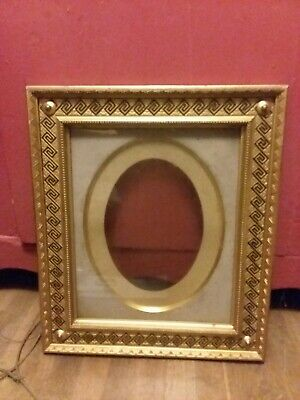 Antique Gold Gilt Gilded Wood Frame For Painting Ornate And Rare