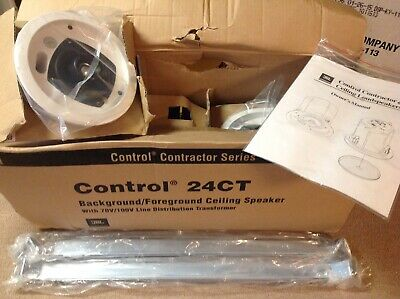 Pair Of JBL Control 26CT Contractor Series Ceiling Speakers, New / Open Box