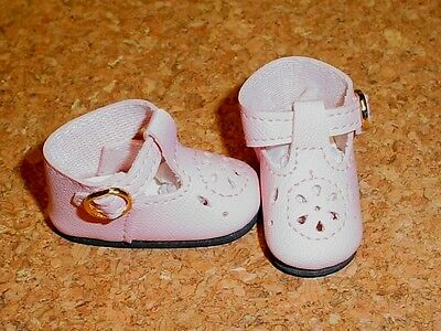 """DOLL Shoes 14/"""" Betsy Hopscotch Hill 50mm YELLOW t-Straps fit P90 Toni"""