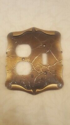 Vintage Amerock Carriage House Switch & Outlet Metal Plate Cover