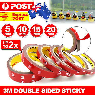 3m Double Sided Versatile Roll Permanent Resistant Stick Heat Tape Sticky Strong