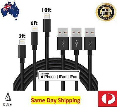 1M 2M 3M USB Lightning Fast Charging Cable for Apple iPhone iPad iPod