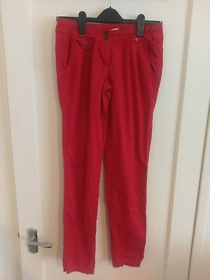 Girls Red Trousers Age13 New Look #U