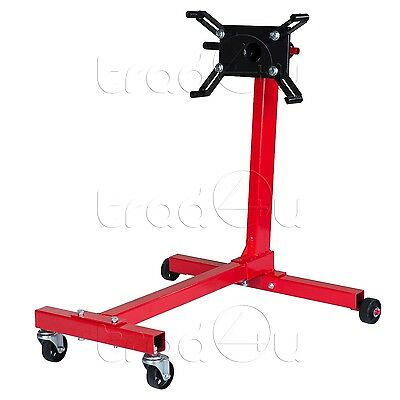 Heavy duty Swivel Transmission Engine Gearbox Mount Support Stand 1000 lbs 450kg