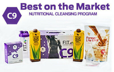 NEW Forever C9 Clean 9 Detox Weight Loss-CHOCOLATE **FAST DELIVERY**