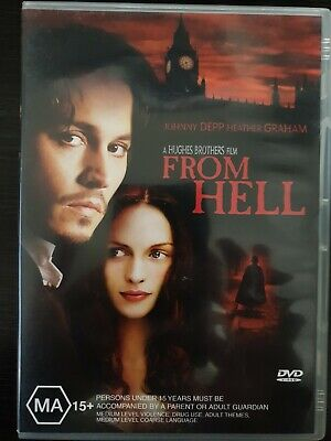 FROM HELL Special Edition New 2 Dvd JOHNNY DEPP ***